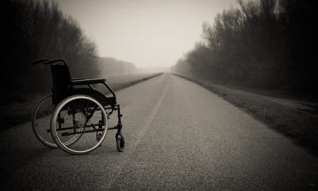 Peter Rosenberger on It's Hard to Steal While Pushing a Wheelchair